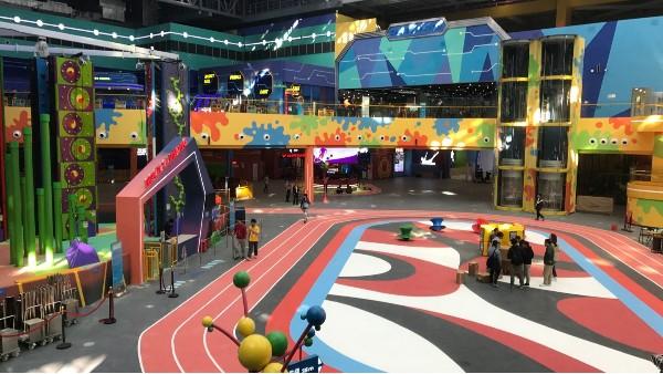 广州融创体育世界—亮豹无机复合地坪涂料工程案例