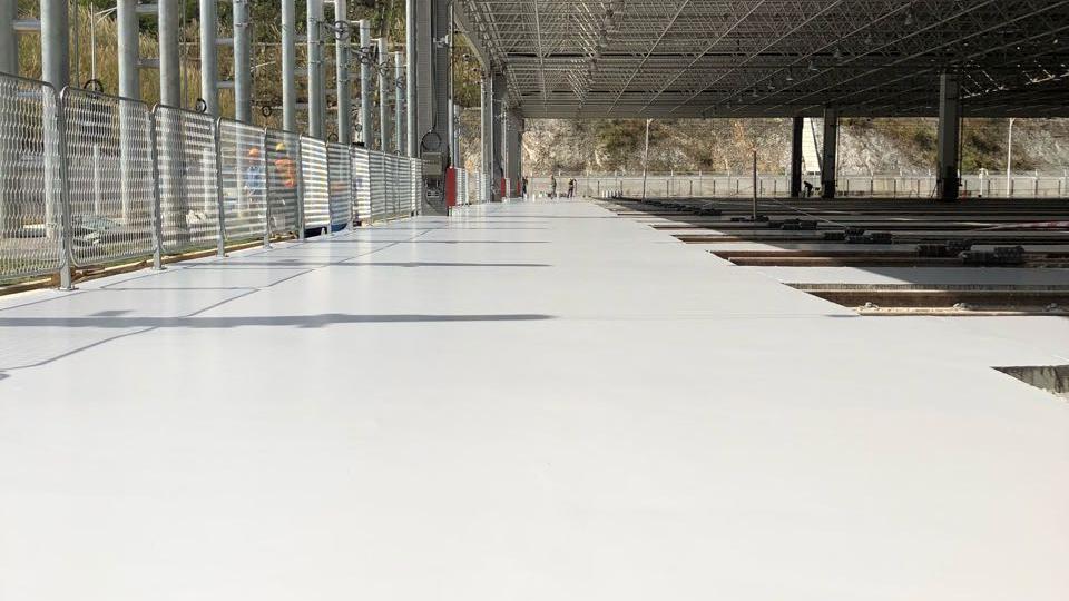 亮豹无机复合水性地坪漆施工方案