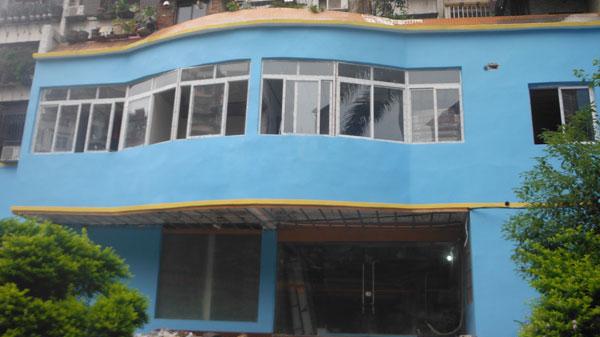 梧州八天酒店—亮豹耐老化外墙漆工程案例