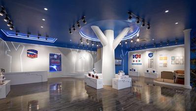 亮豹广州体验中心一楼展品区