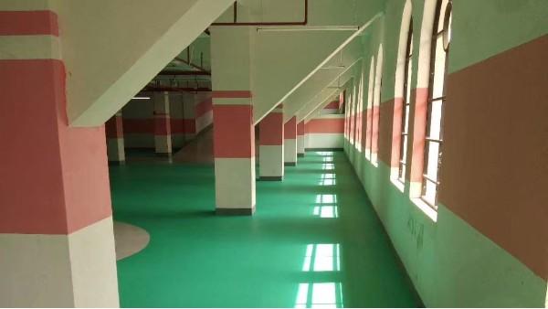 惠州光耀众望花园—亮豹无机复合地坪工程案例